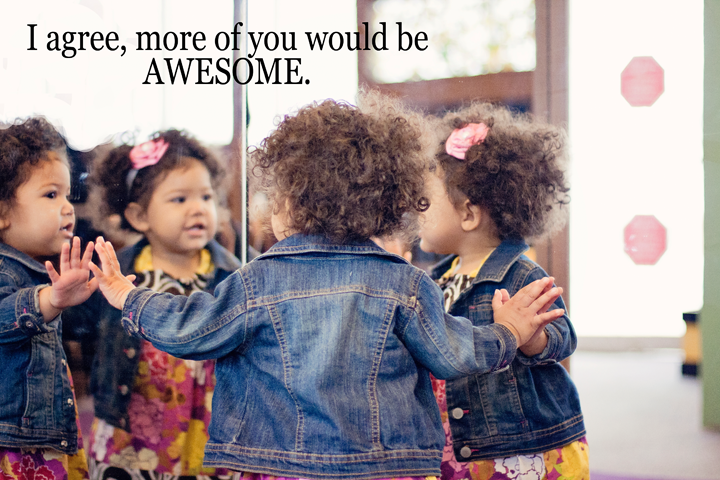 I agree, more of you would be AWESOME! #WordsFromTheHeart