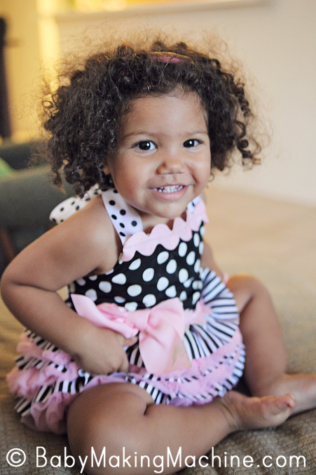 Biracial Baby Girl Curly Hair My natural hair nightm...