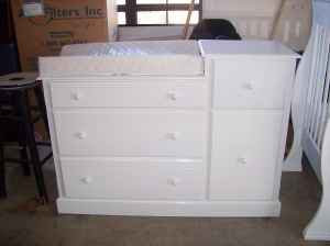 I Got This Pretty White Dresser That Goes Perfect In The Nursery But Turned It From To