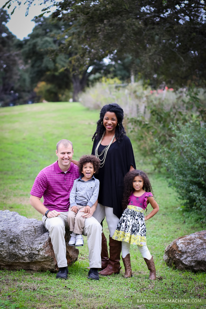 interracial multiracial family photo