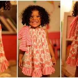 Toddler pajama dress