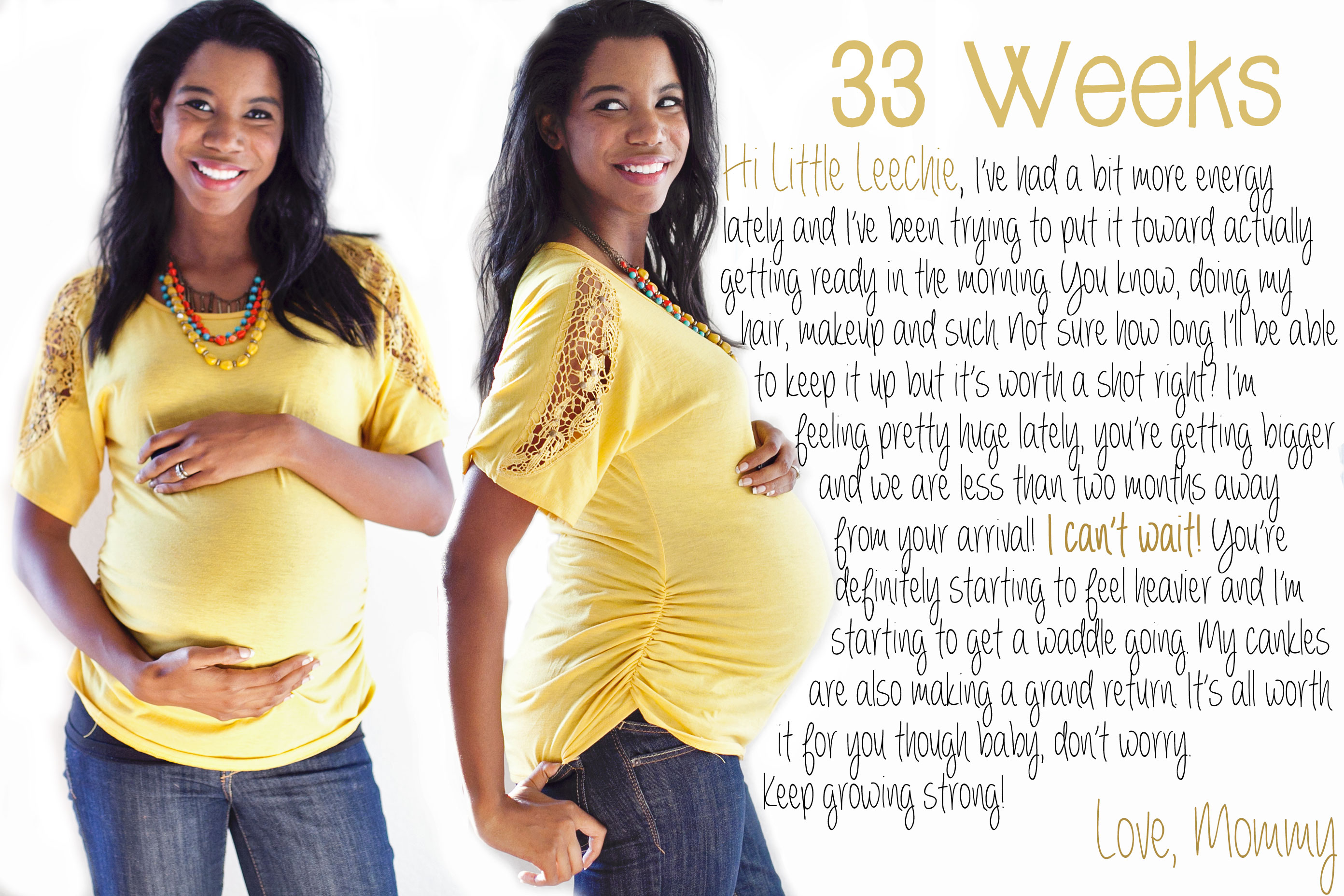 weekly pregnancy photo ideas - 33 weeks Archives Baby Making Machine