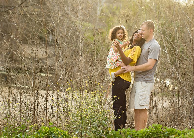 interracial family maternity