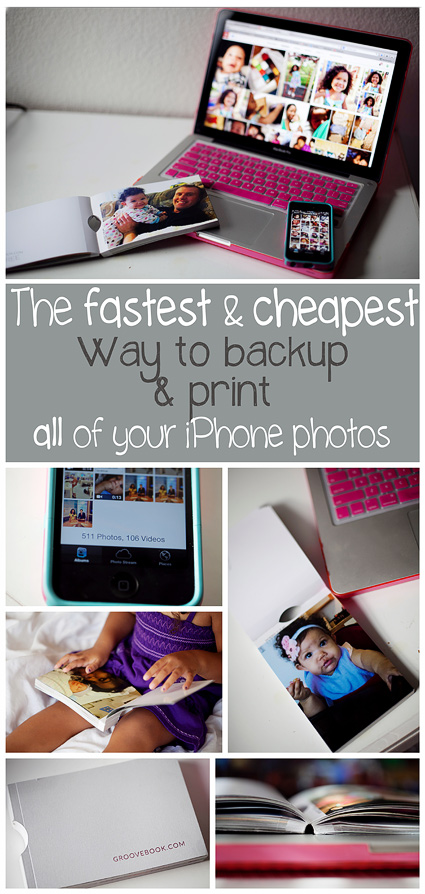 "The fastest and cheapest way to backup and print all of your smart phon/ cell phone photos. So easy it's crazy! Now I can finally stop getting that dreaded ""not enough space"" warning when I try to take a photo."
