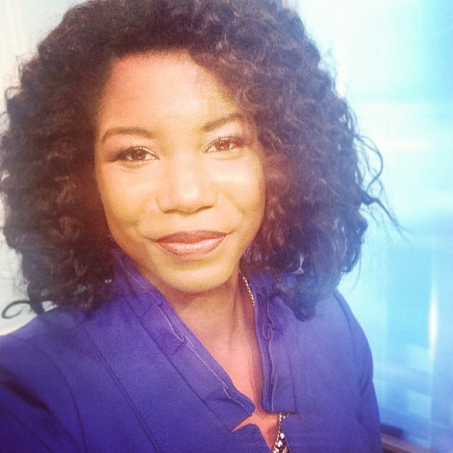 natural hair news caster