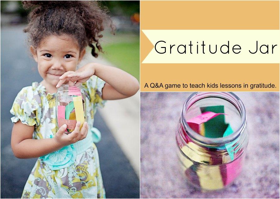 gratitude jar game
