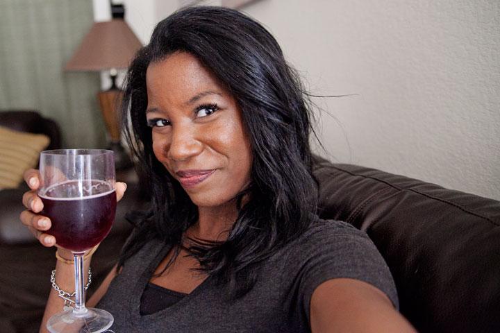 fake wine