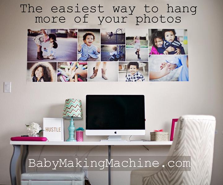 cheap-way-to-hang-photos