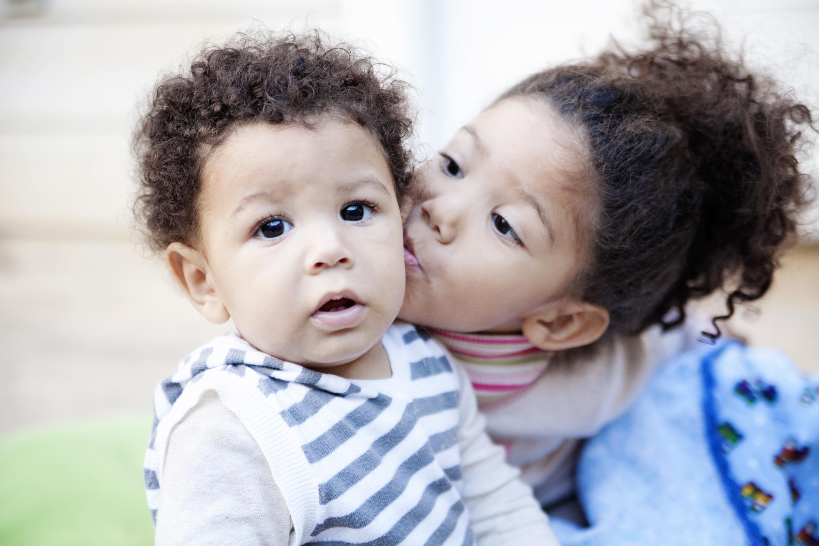 Interracial baby making