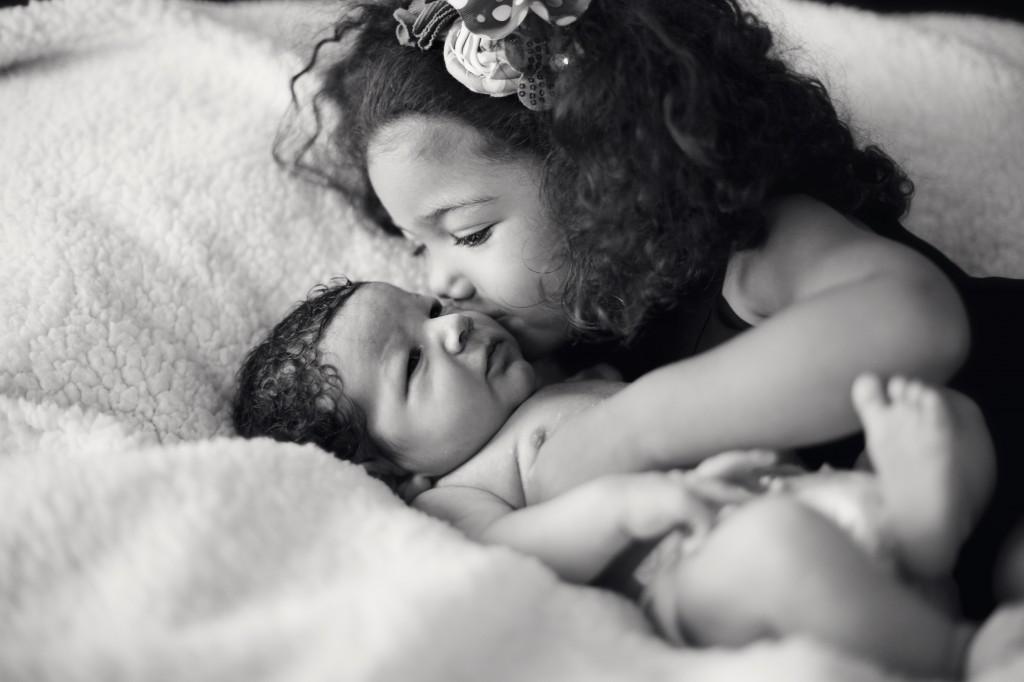 beautiful siblings