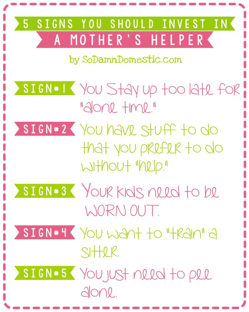 mothers helper image