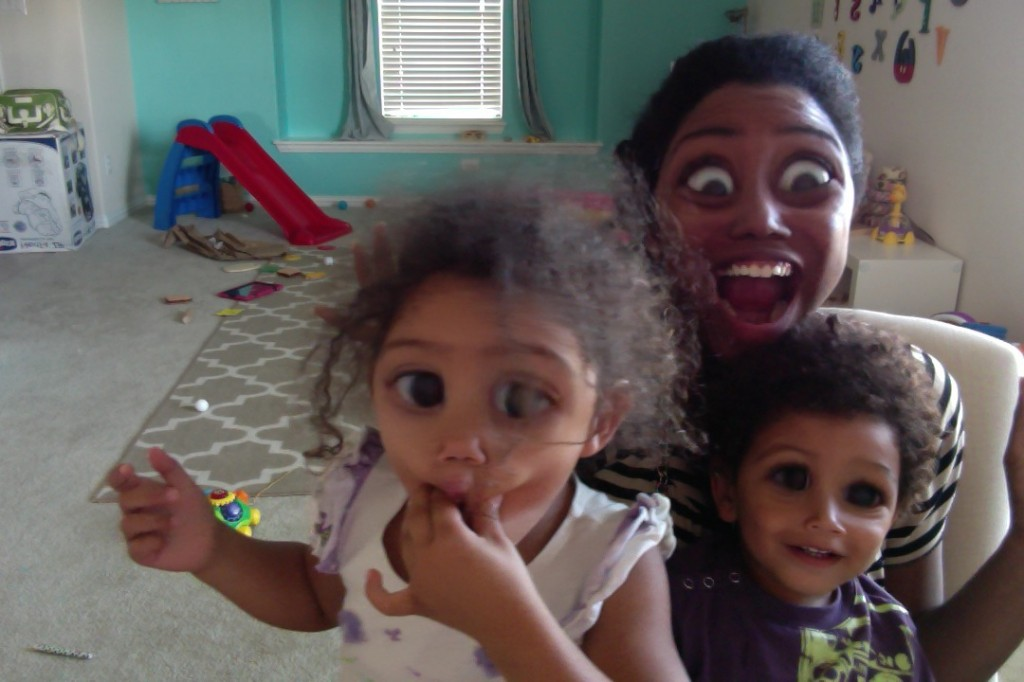 Helpful tips for being productive when you work at home with kids.