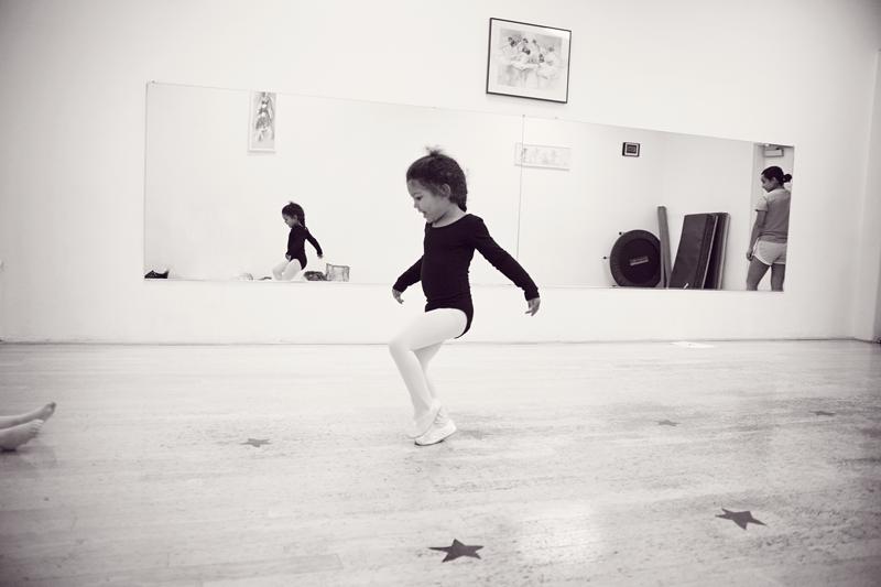 Biracial ballerina