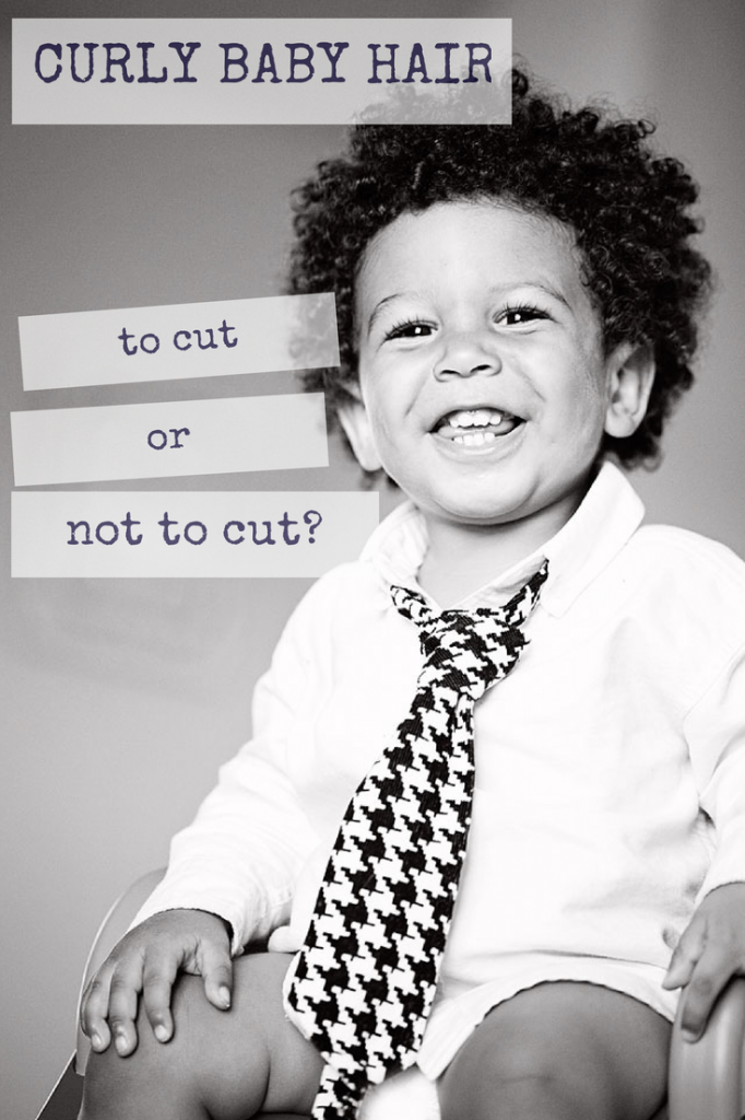 A humorous blog post about how to decide when to cut your baby's hair.