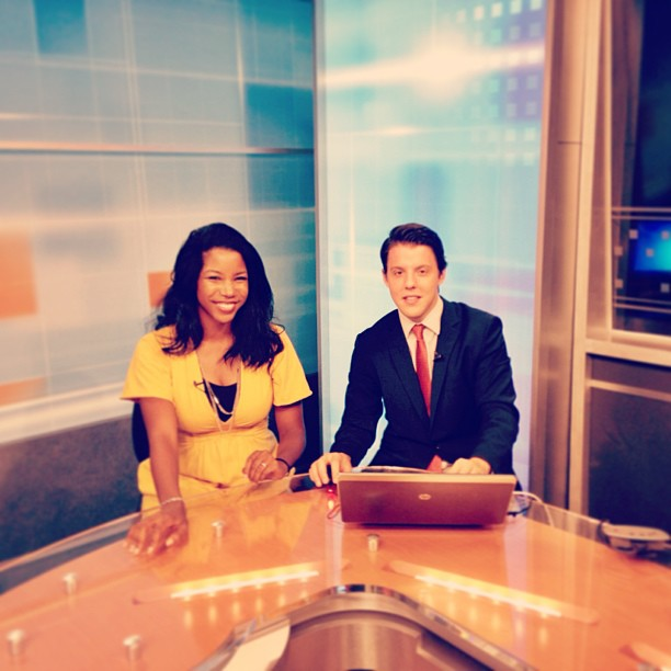 News anchoring