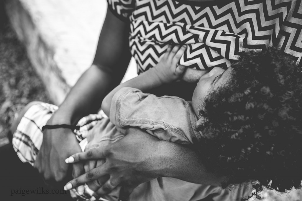 Breastfeeding moms come in all shapes and sizes. One mom's story of her breastfeeding story shared on World Breastfeeding Week.