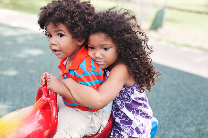 Choosing one kid over the other. Parents won't admit it, but we all do it from time to time.