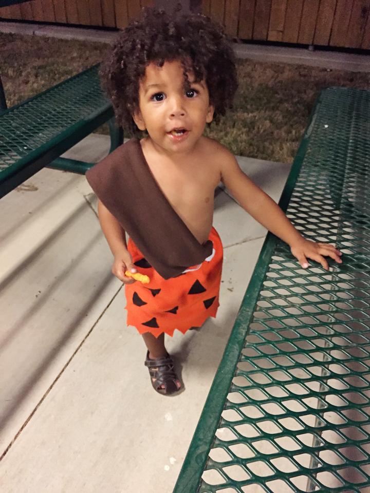 halloween costume baby led