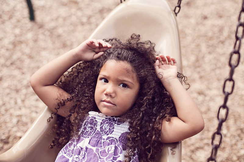 Tips for washing biracial hair