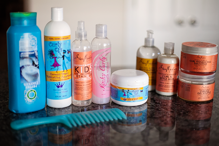 Natural Hair Care Daily Routine