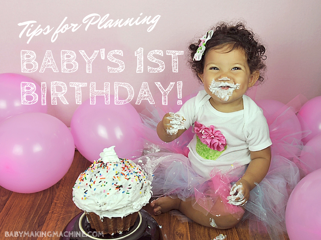 tips for planning a first birthday party cherish365