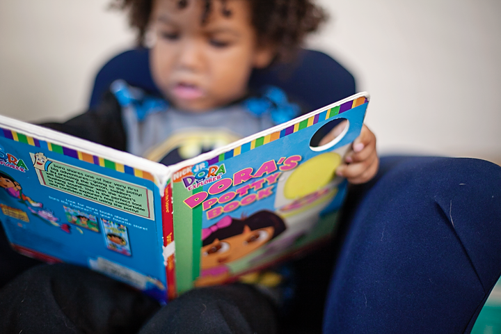Reading with kids digitally and with paper books. A list of favorite books read in 2014.