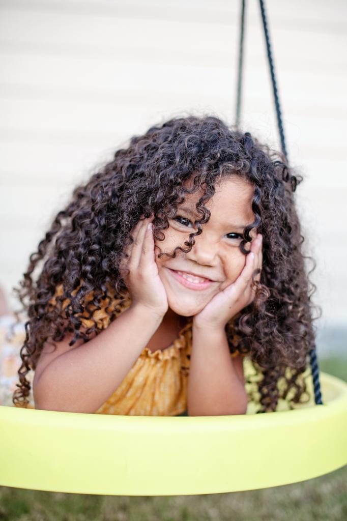 Biracial Hair Care Routine Kids