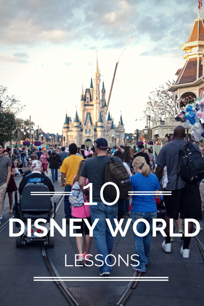 10 Lessons learned after a visit to Disney World. Great tips for families visiting the park for the first time. Ideas for fun things to do, and suggestions to make the trip easier!