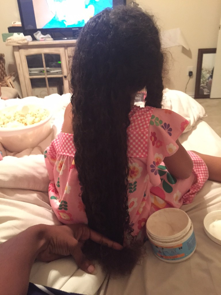 Biracial hair washing styling upkeep