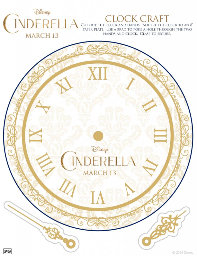 Cinderella Clock Activity