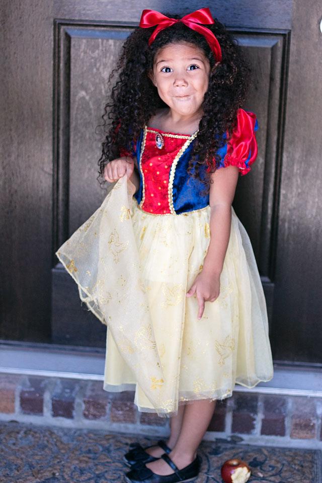 Brown Snow White