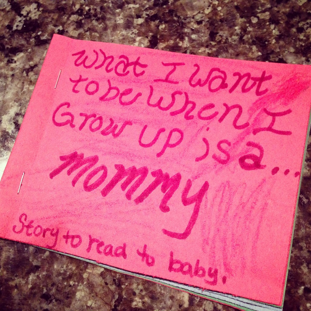 mommy when I grow up book