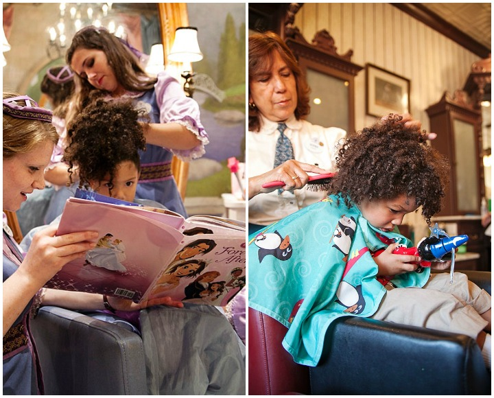 Disney World Salons vs Curly Hair: See Who Wins in My Bippity Boppity ...