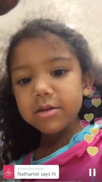 Periscope with kids