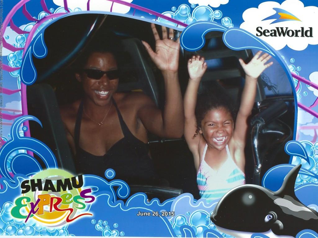 Shamu express kids roller coaster