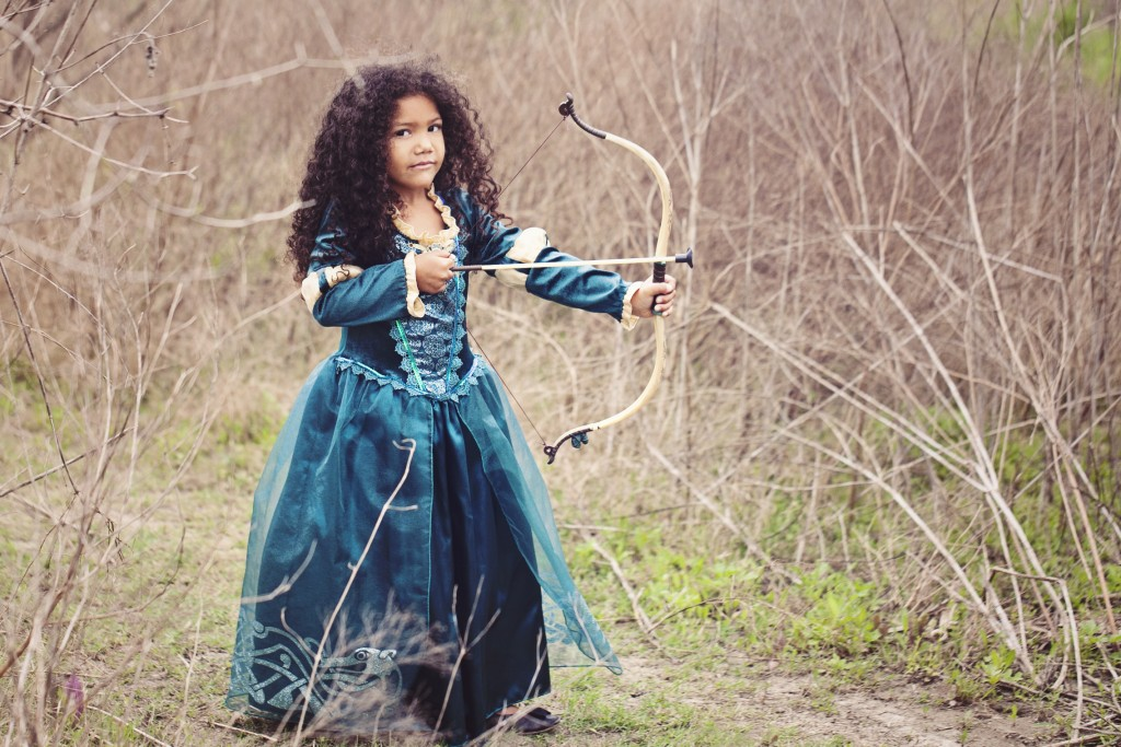 Dressup as Princess Merida. 10 ways to breed a Disney Nerd
