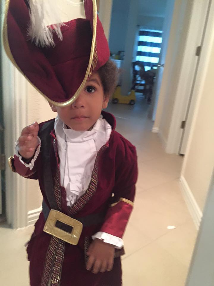 captain hook toddler