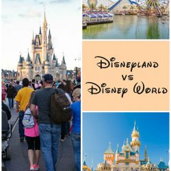 Disneyland vs Walt Disney World: A quick comparison about the differences between the two theme parks.