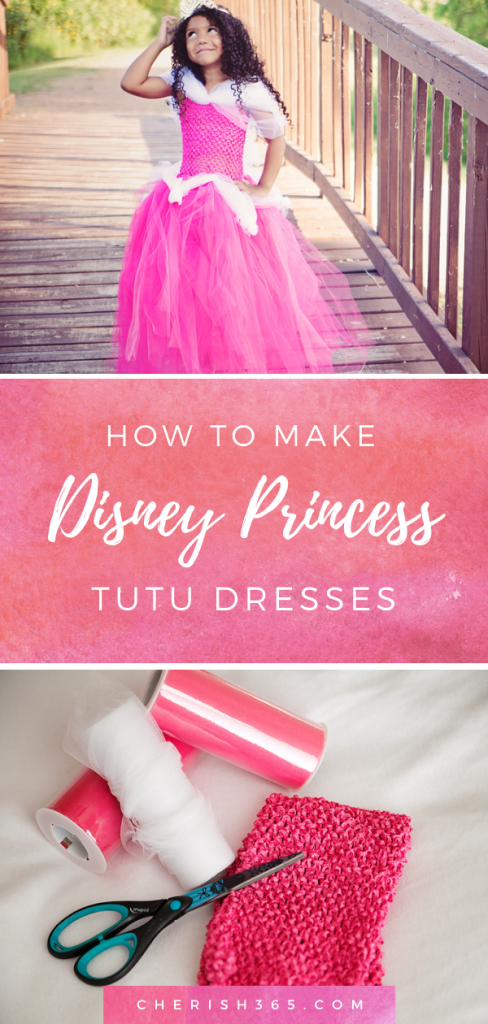 How to make a Disney princess tutu dress