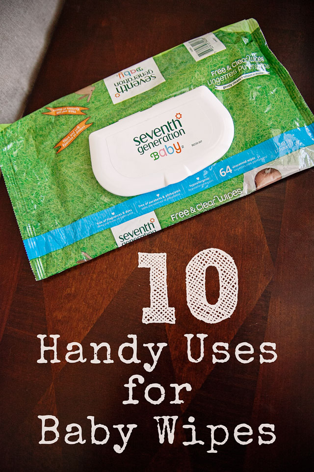 handy uses for baby wipes
