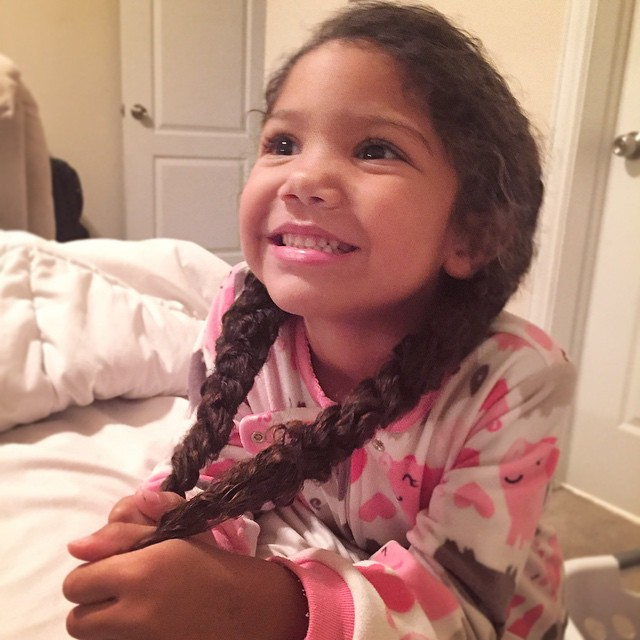 medicine safety tips for kids - biracial hair