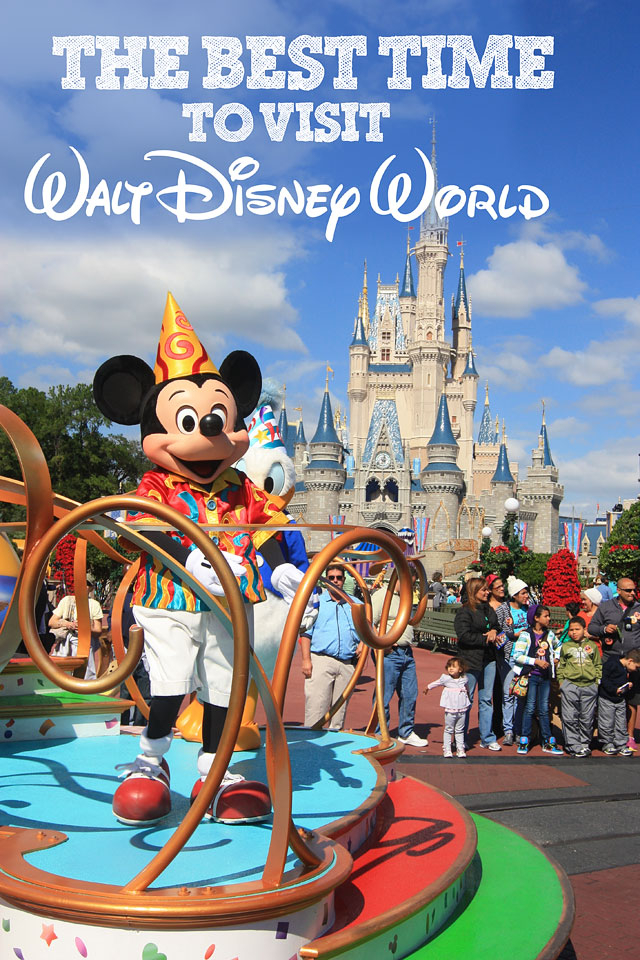 best time to visit Disney www.disneymomsofcolor.com