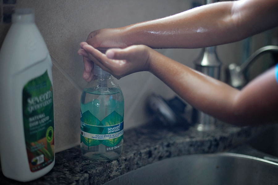 I'll never send my sick kids to school (anymore) hand washing seventh generation