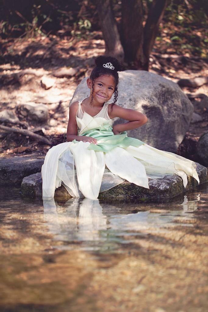 Biracial Disney Princess Series: My Little Princess- A cute and creative mother-daughter photo series featuring a biracial girl dressed up as Disney Princesses.