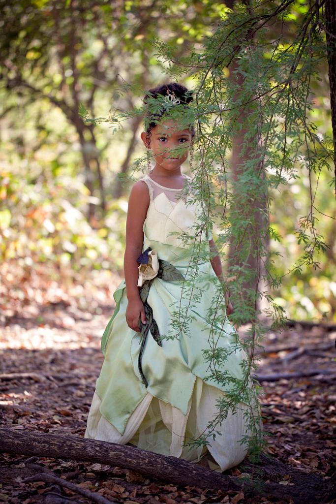 Biracial Disney Princess Series: My Little Princess- A cute and creative mother-daughter photo series featuring a biracial girl dressed up as Disney Princesses. Part 7: Tiana