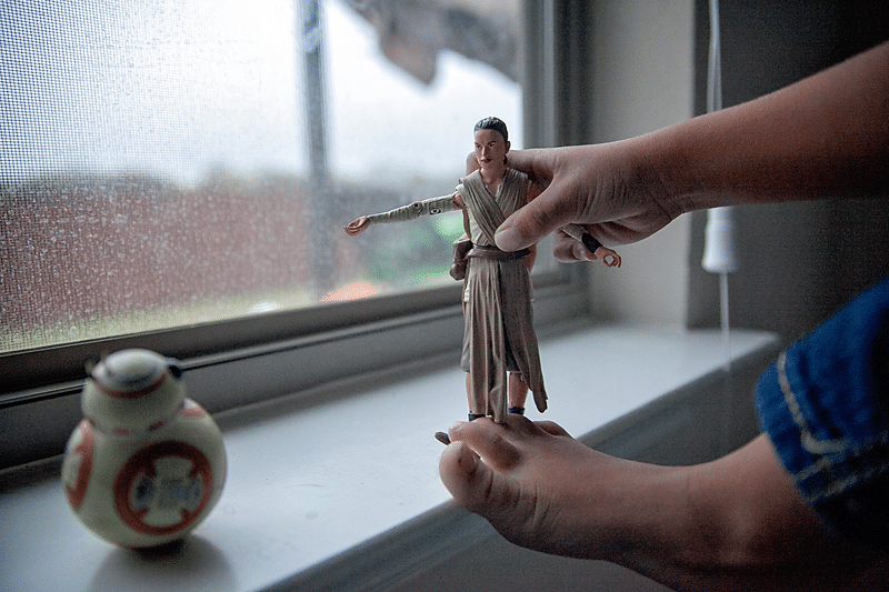 Raising a Star Wars fan: Rey and Phasma Toys