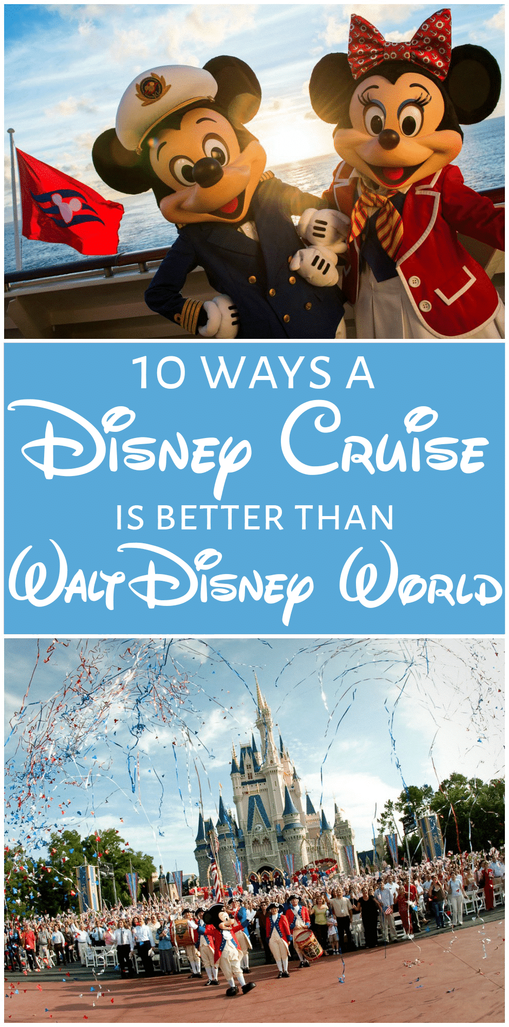 Have You Visited A Disney Park Or Been On Cruise How Did Enjoy It