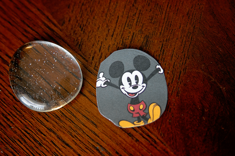 Mickey Mouse Magnet Craft Idea