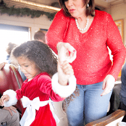 North Pole Express Train Ride: How to Photograph Polar Express Memories