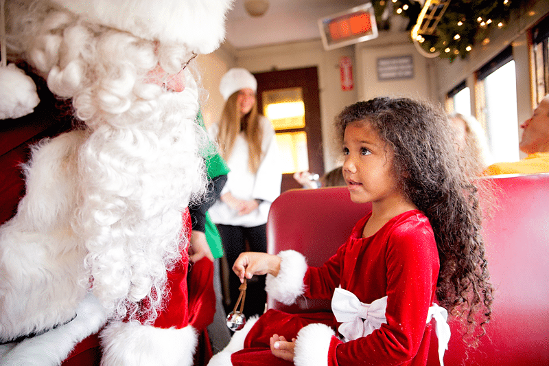 North Pole Express Train Ride: How to Photograph Polar Express Memories